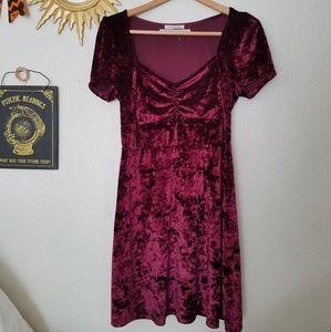 Urban Outfitters Velvet dress